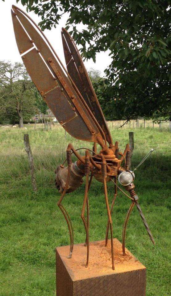 33 Incredible Sculptures From Scrap Metal