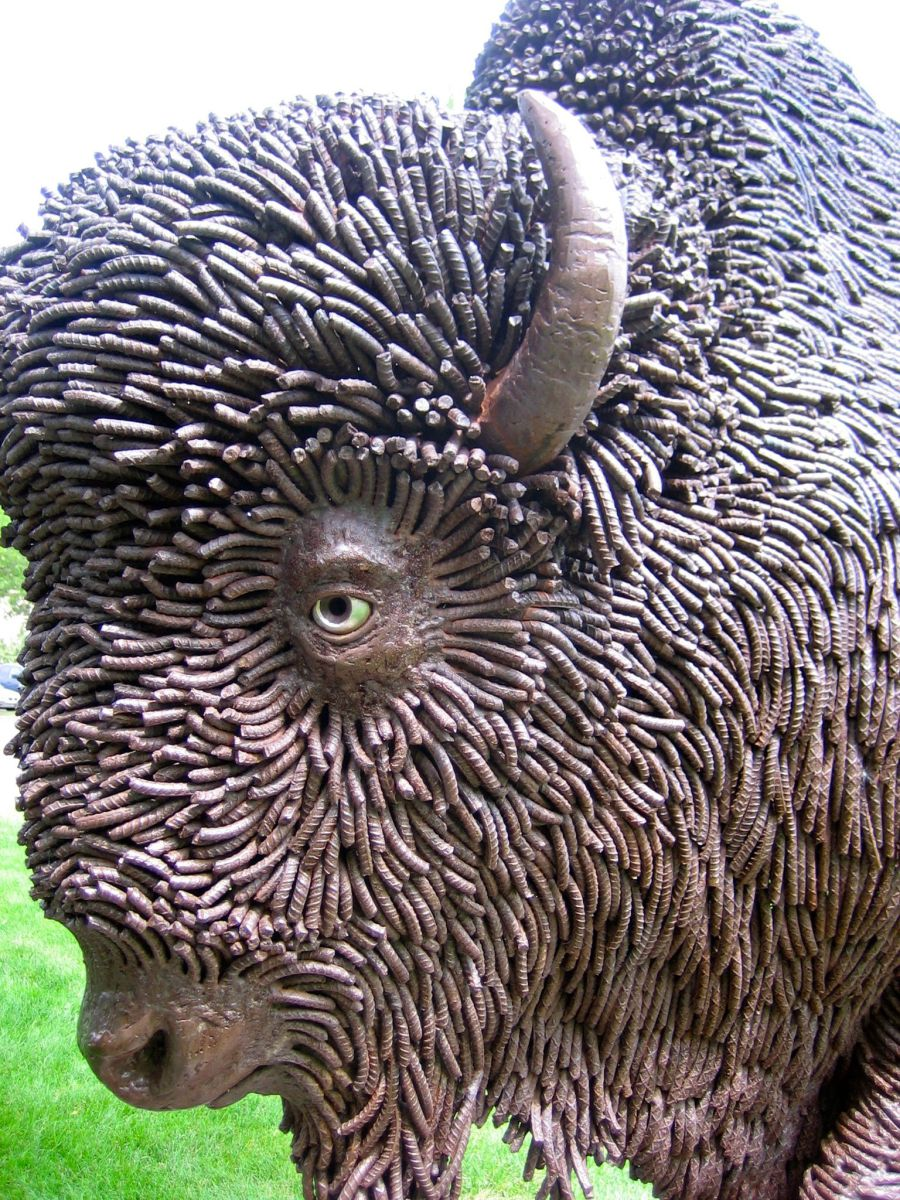 50 Incredible Sculptures Made Of Scrap Metal