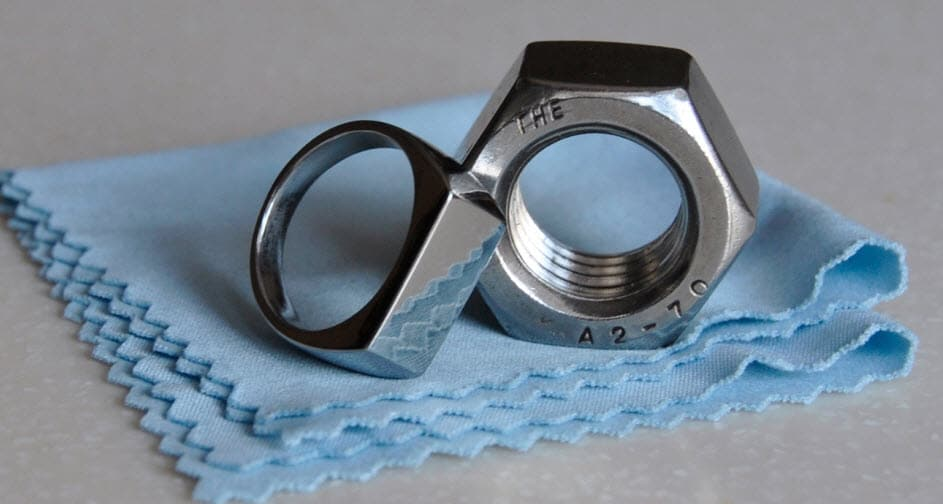 How To Make A Ring From A Nut Using Simple Tools