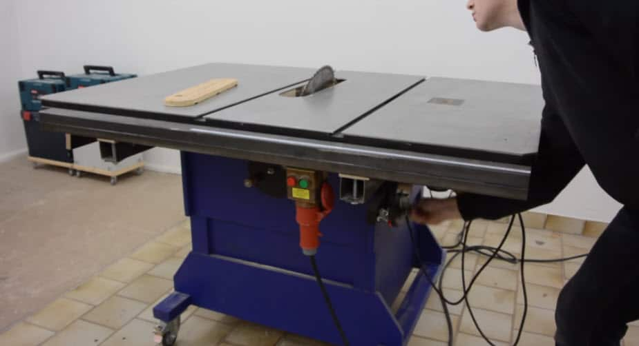 Building A Big Table Saw