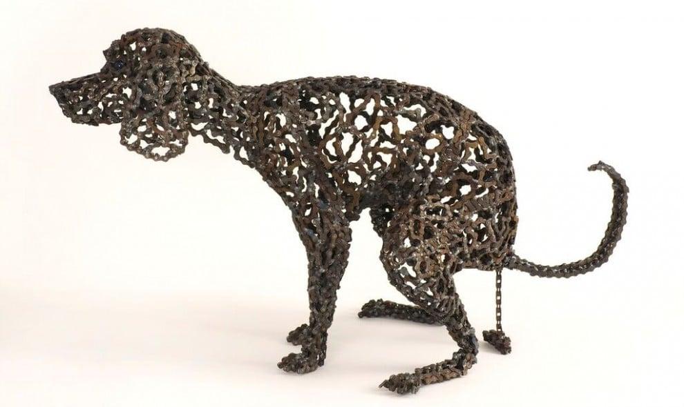 40 Amazing Welded Chain Art